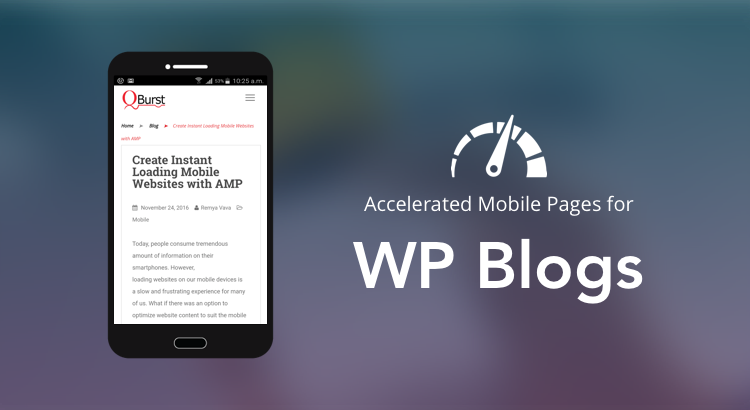 Setting up AMP for your WP blog