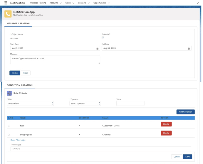 Notifications Simplified for Salesforce Business Users