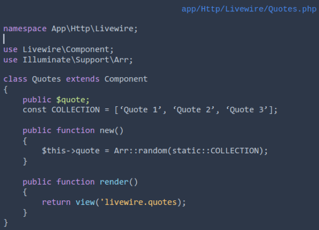Livewire_component