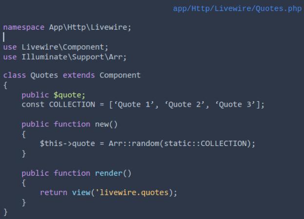 Livewire_component