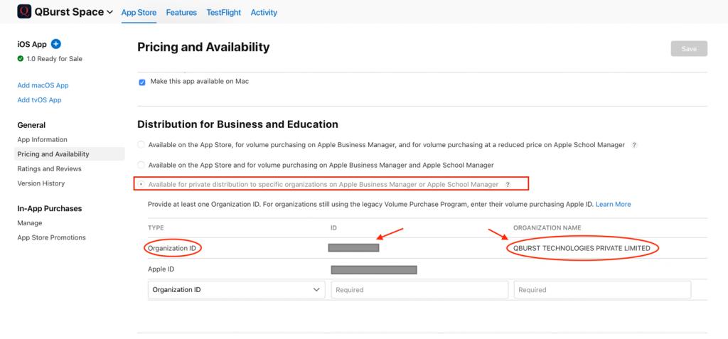 iOS app distribution options