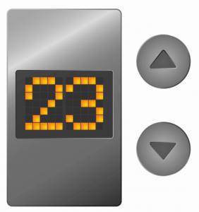 LED Matrix Display in elevator_Jetpack Compose
